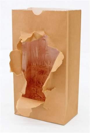 Jerry McMillan (b.1936 California) Untitled Torn Bag