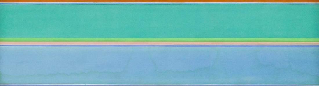 Kenneth Noland (1924-2010 New York) ''Second Lure''