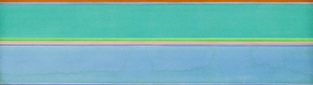 Kenneth Noland (1924-2010 New York) ''Second Lure''