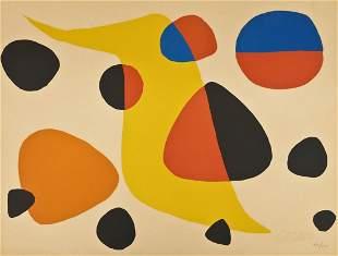 Alexander Calder (1898-1976 American) ''Floating