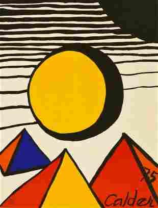 Alexander Calder (1898-1976 American) ''U.N 30th