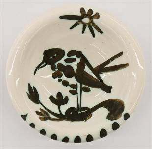 Pablo Picasso (1881-1973 Spanish) ''Oiseau au Soleil''