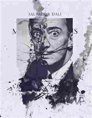 Salvador Dali (1904-1989 Spanish) Untitled Self