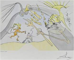 Salvador Dali ''The Elephant and Jupiter's Monkey''