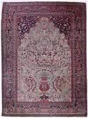 Antique Kashan Persian Oriental Rug 10'1''x7'6''. A