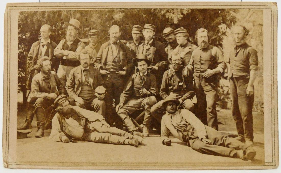 Mathew Brady ''Our Spies in the South'' CDV Photograph.
