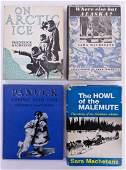 4pc Vintage Sara & Fred Machetanz Signed Books.
