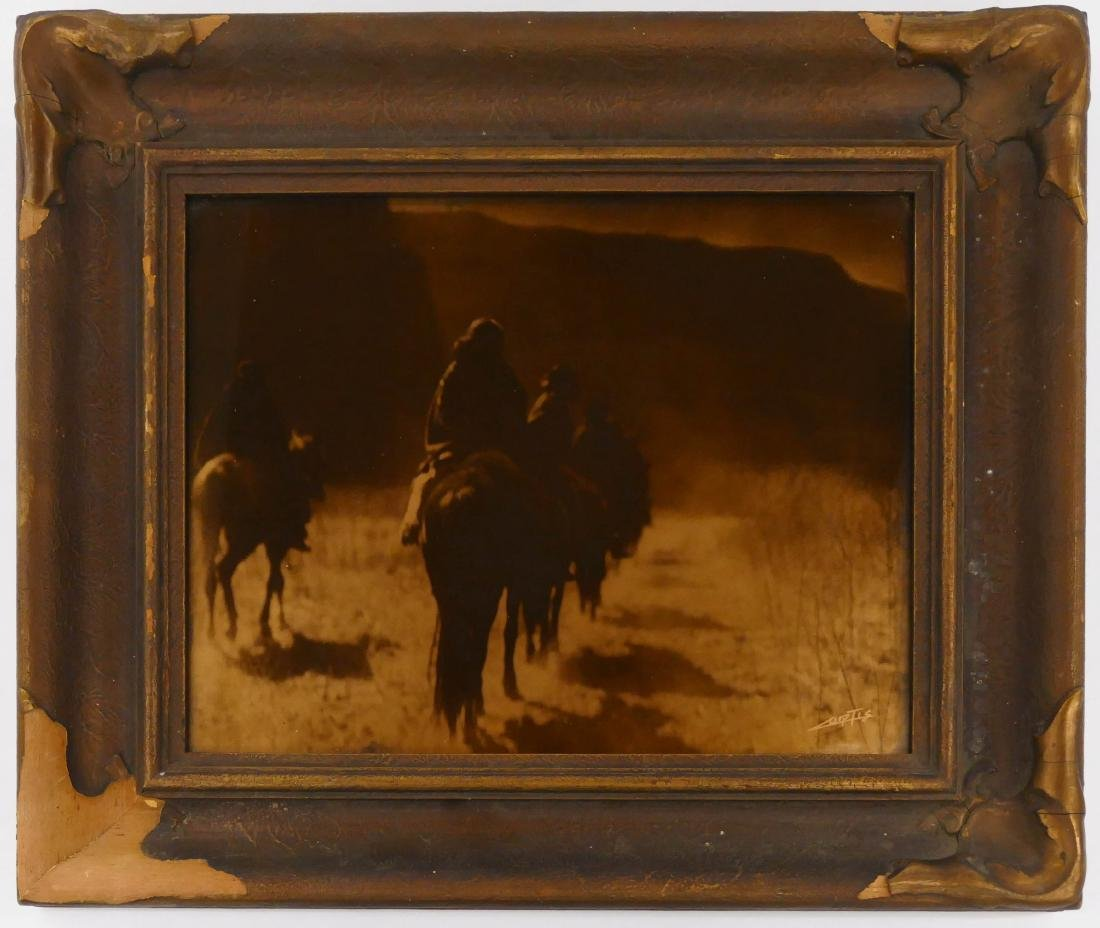 Edward Curtis (1868-1952 Washington) ''The Vanishing