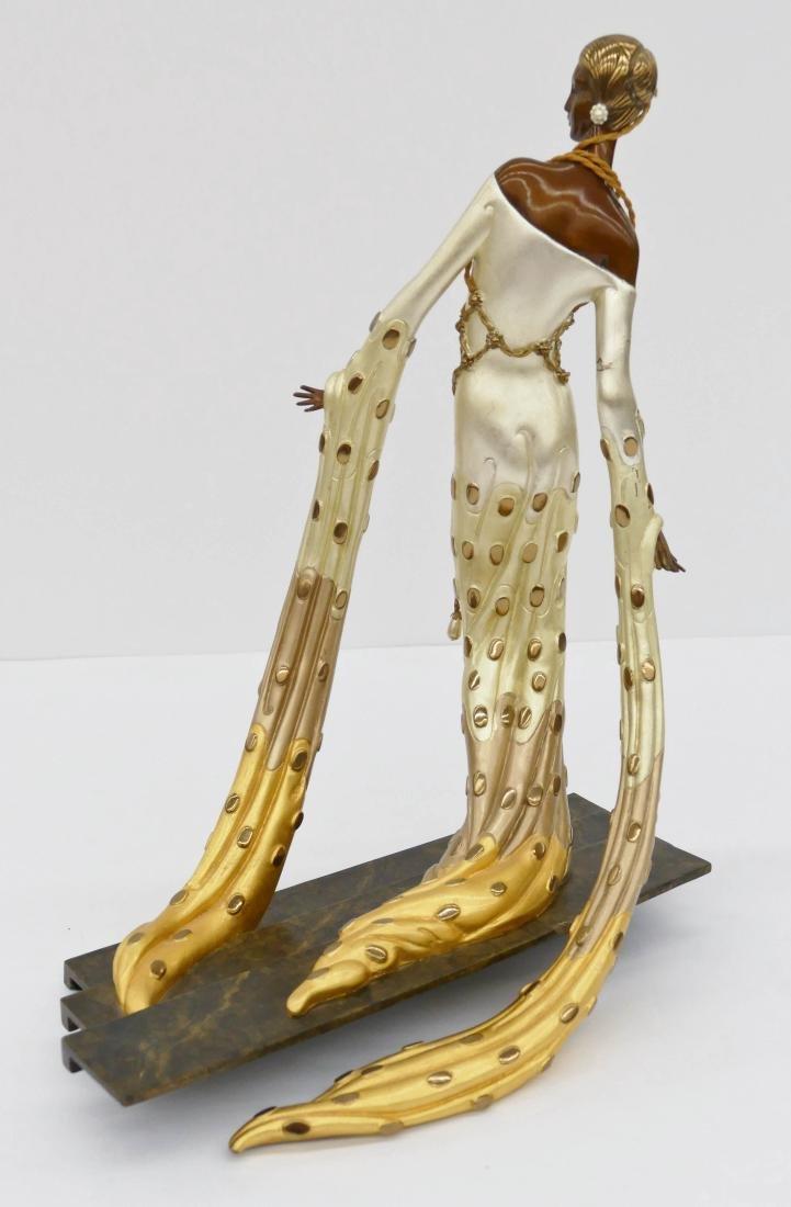 Erte (1892-1990 Russian) ''Melisande'' 1990 Patinated - 2