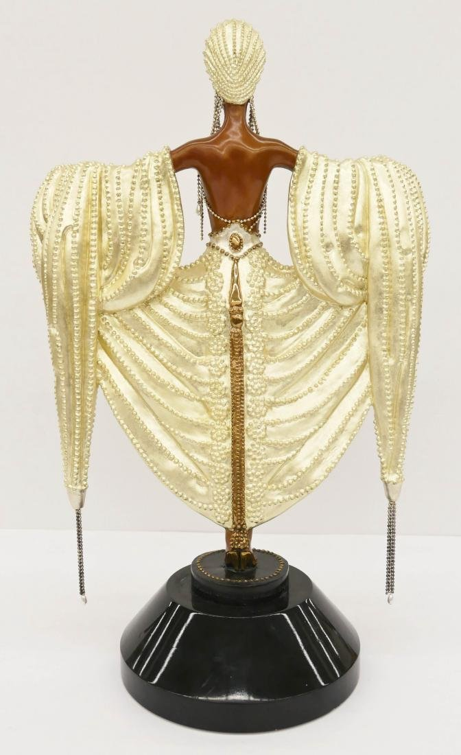 Erte (1892-1990 Russian) ''Radiance'' 1988 Patinated - 2