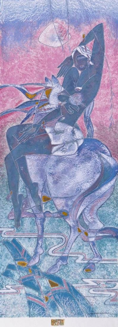Yamin Young (b.1959 Chinese) ''Gentle Strength''