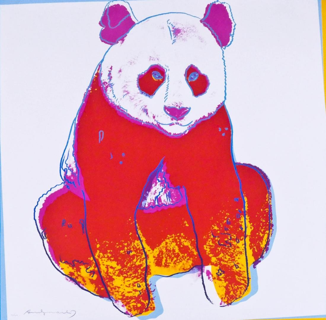 Andy Warhol (1928-1987 American) ''Giant Panda'' (F&S