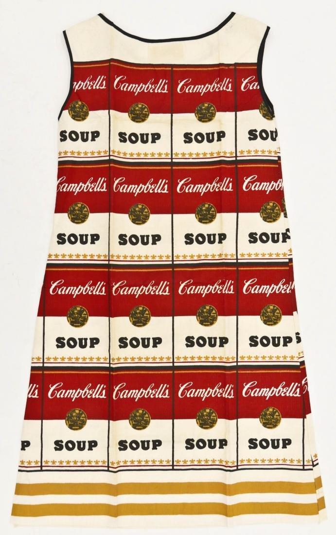 Andy Warhol ''The Souper Dress'' 1965 Screenprint on - 2