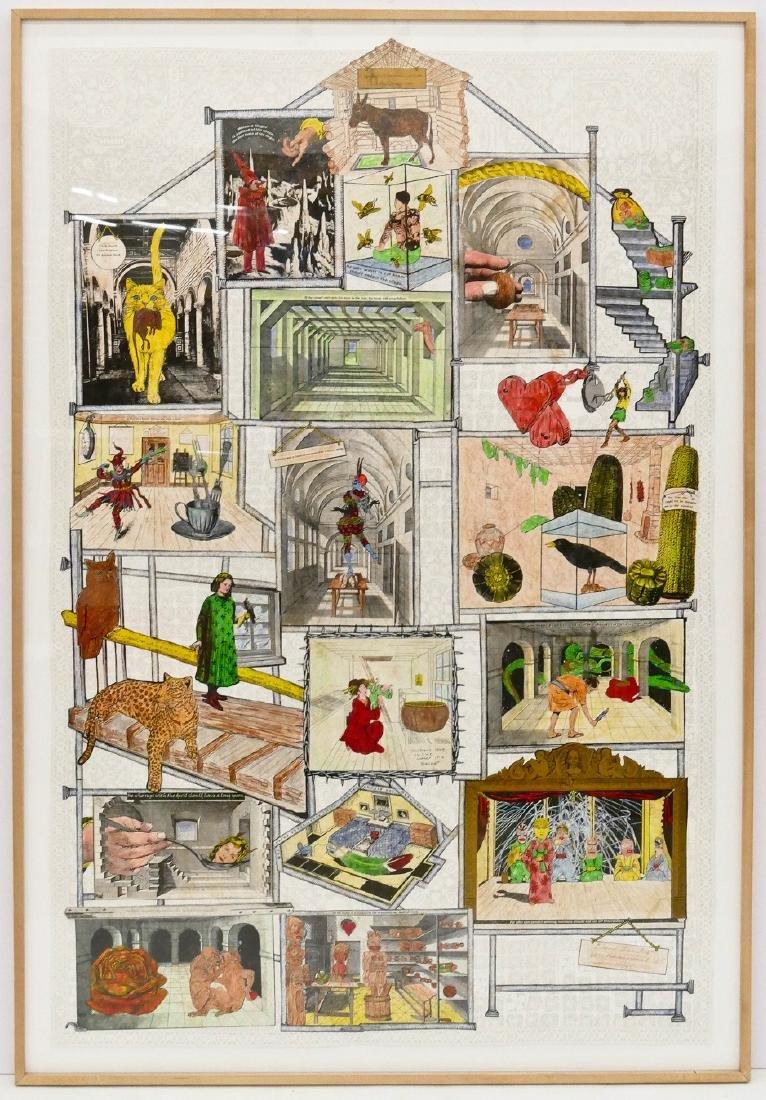 Jane Hammond (b.1950 New York) ''Love Laughs'' 2005 - 2