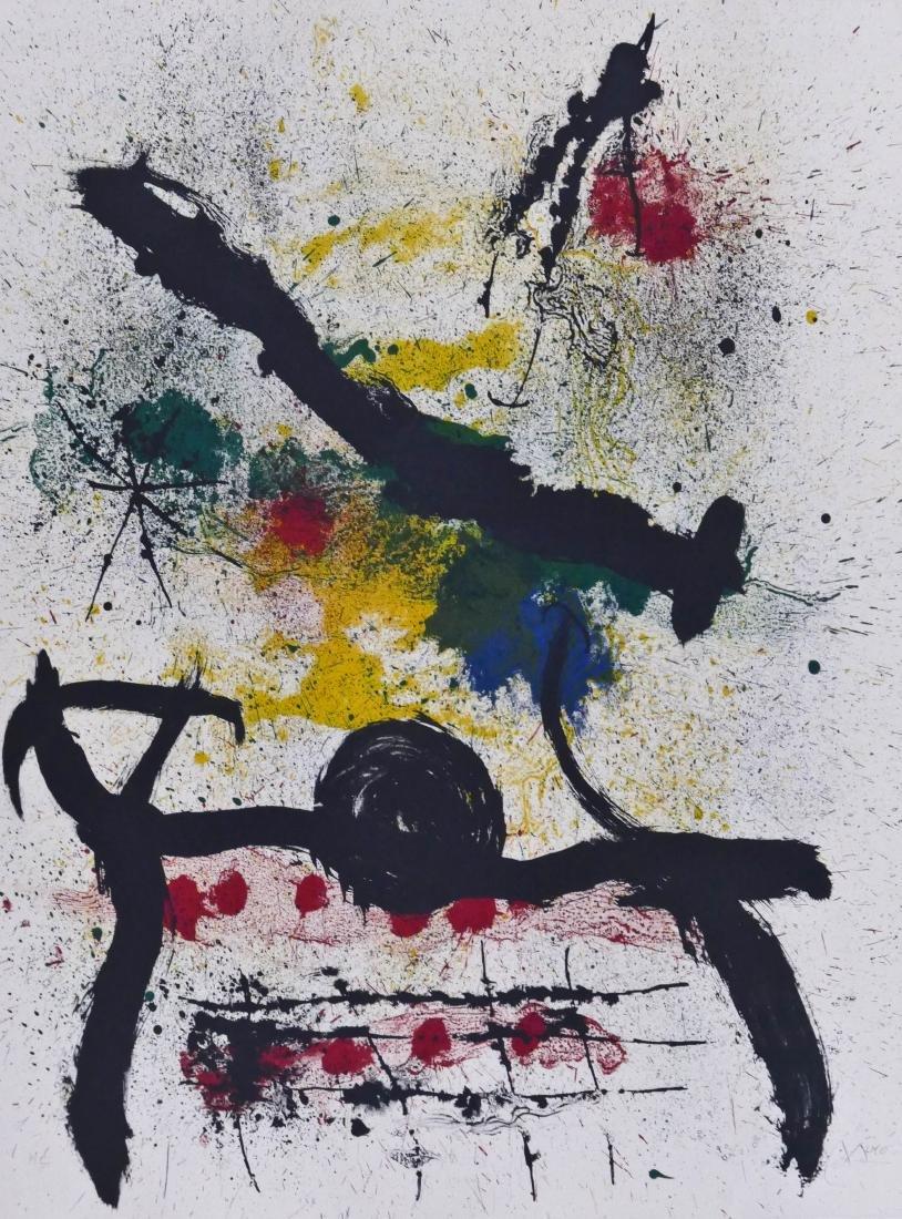 Joan Miro (1893-1983 Spanish) ''Graphikmappe, Hochshule