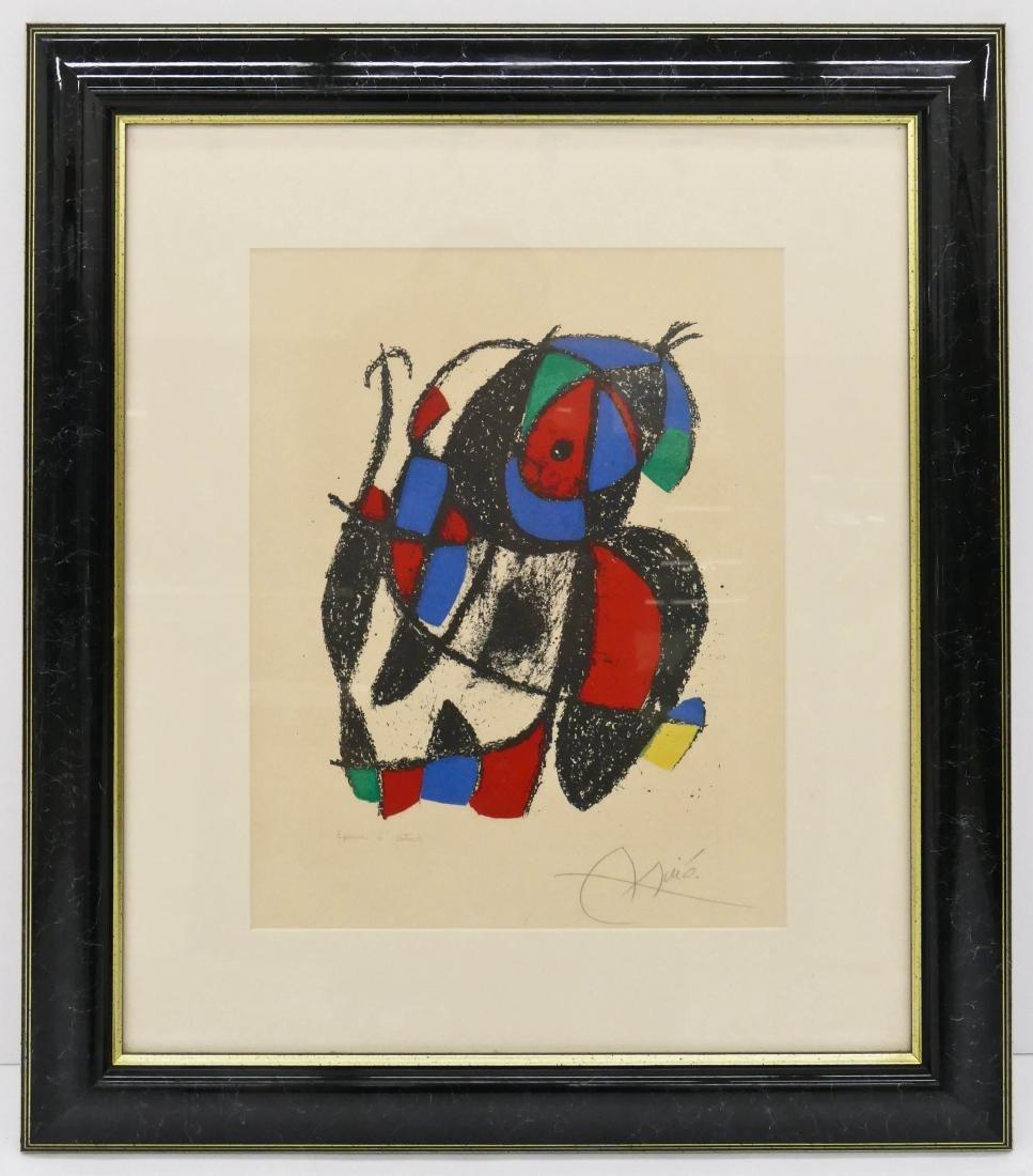 Joan Miro (1893-1983 Spanish) ''Lithographe II, Plate - 2