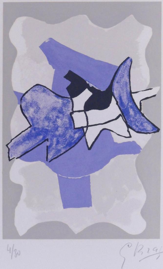 Georges Braque (1882-1963 French) ''La Nuit, La Faim''