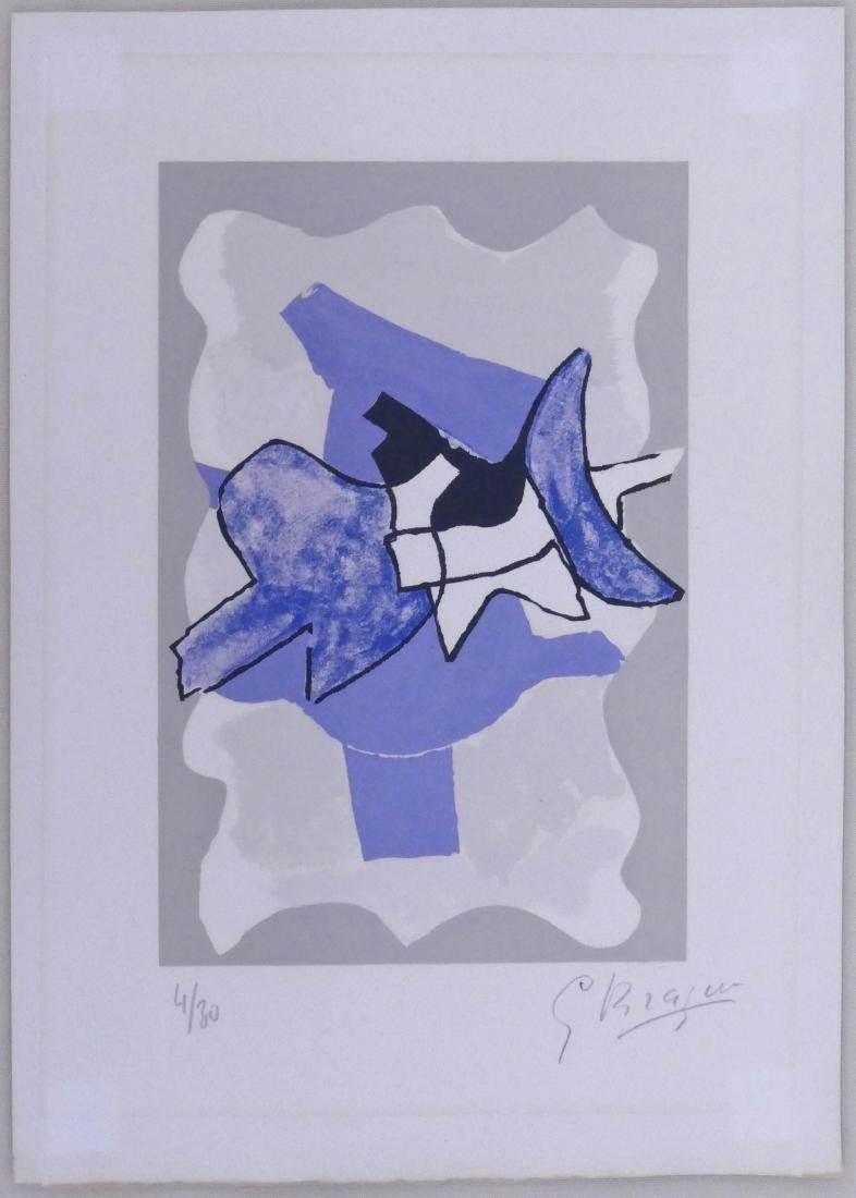 Georges Braque (1882-1963 French) ''La Nuit, La Faim'' - 2