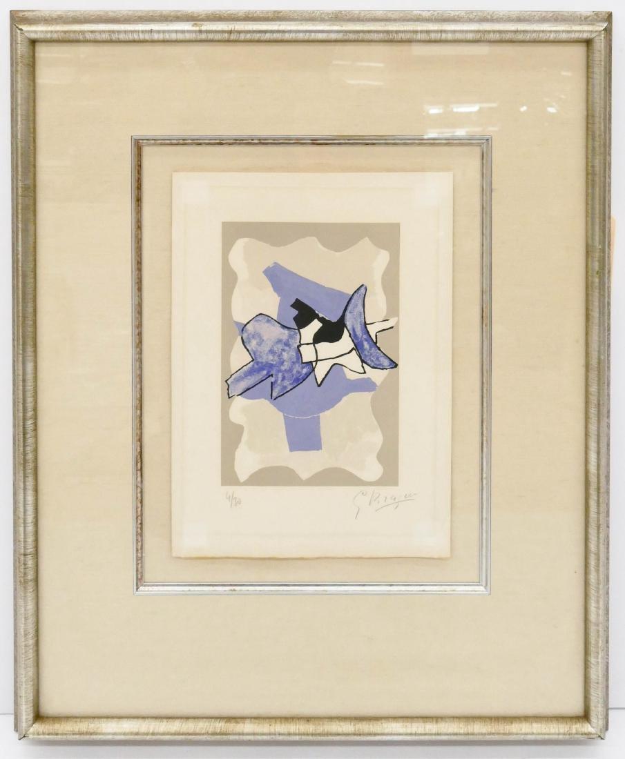 Georges Braque (1882-1963 French) ''La Nuit, La Faim'' - 3