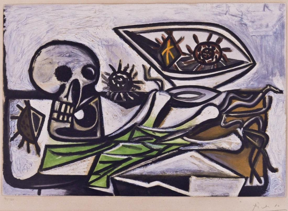 Pablo Picasso (1881-1973 Spanish) ''Nature Morte au