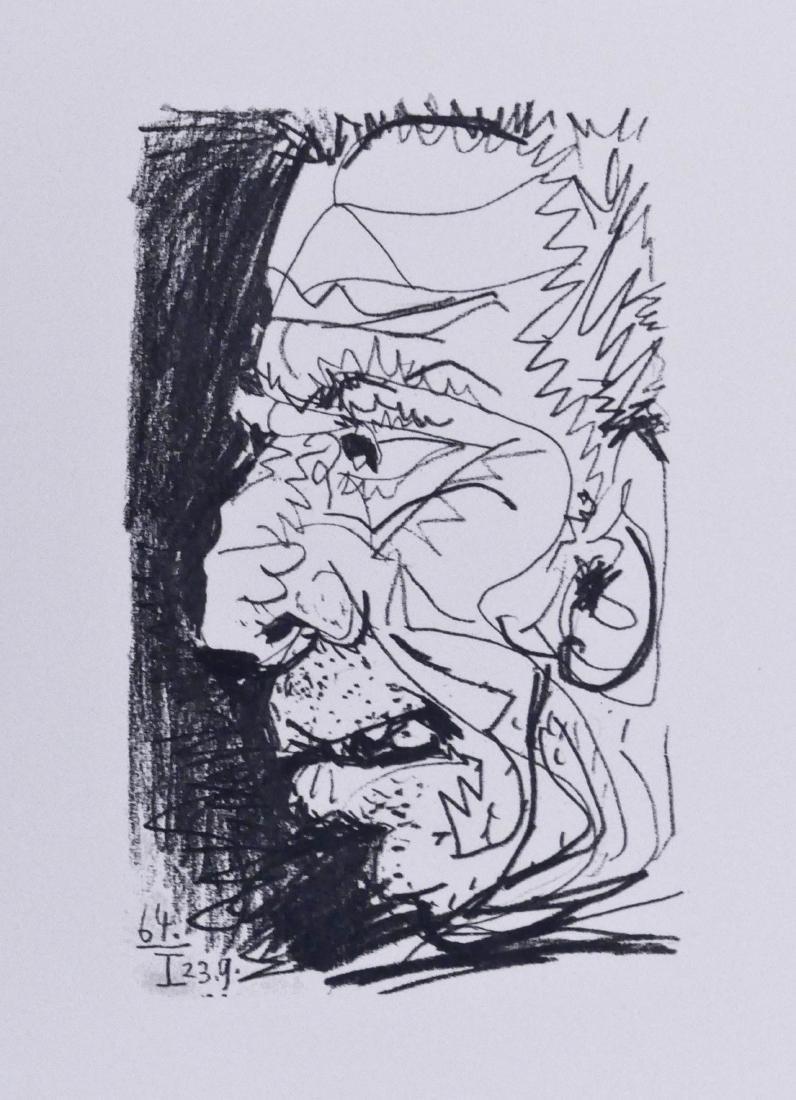 Pablo Picasso ''Le Gout du Bonheur'' 1970 Lithograph on