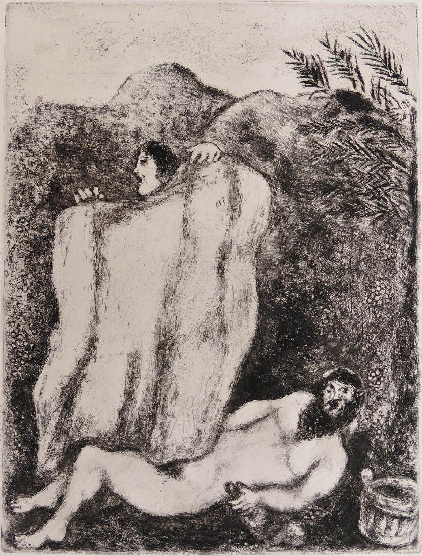 Marc Chagall (1887-1985 Russian) ''Le Manteau de Noe''