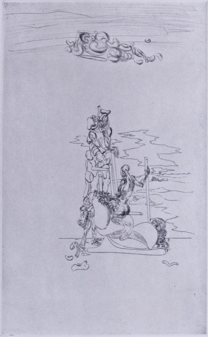 Salvador Dali (1904-1989 Spanish) ''Le Chants de
