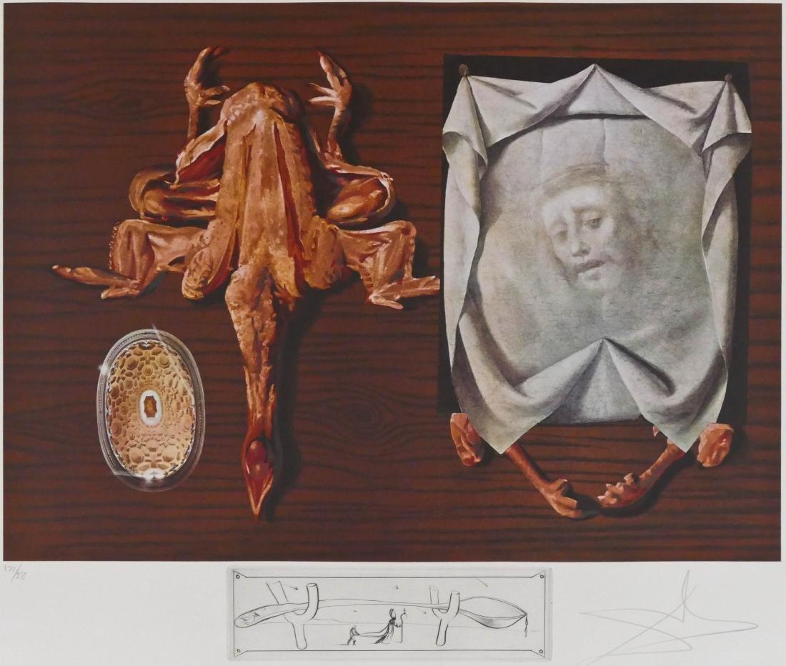 Salvador Dali (1904-1989 Spanish) ''Les Spoutniks
