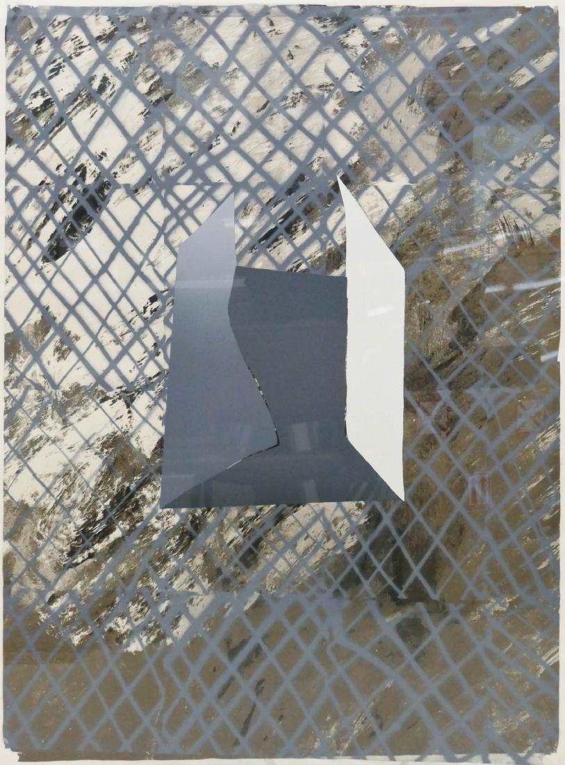 John Walker (b.1939 British) ''VI'' 1965-73 Abstract