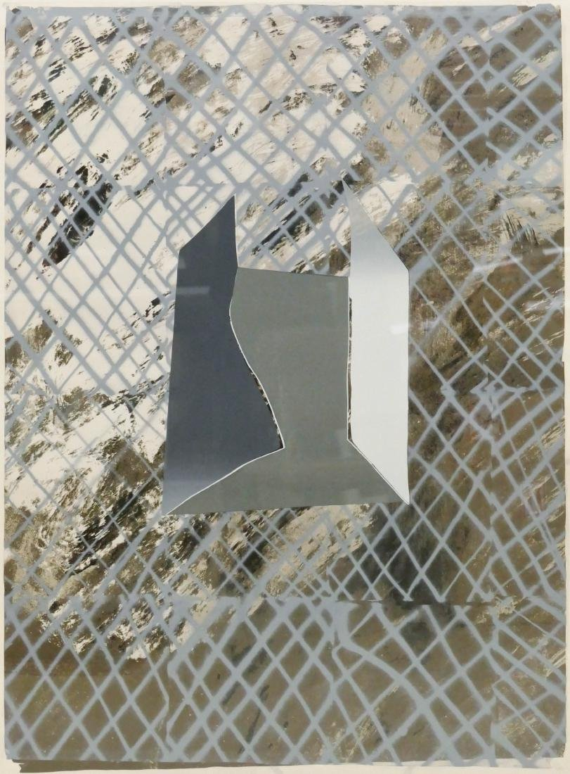 John Walker (b.1939 British) ''VII'' 1965-73 Abstract