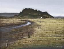 Richard Gilkey (1925-1997 Washington) ''Dodge Valley