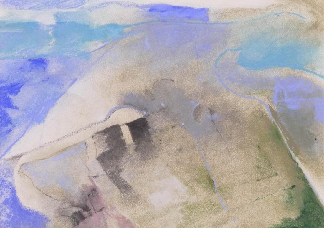 Max Benjamin (b.1928 Washington) Untitled Abstract 1977