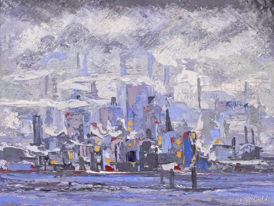 Patrick McArdle (1915-1997 New York) Untitled Cityscape