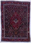 Semi Antique Tabriz Persian Oriental Rug 52x36