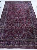 "Semi Antique Sarouk Palace Size Oriental Rug 12'6""x20'."