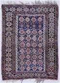 Antique Shirvan Persian Oriental Rug 3'6''x5'10'.