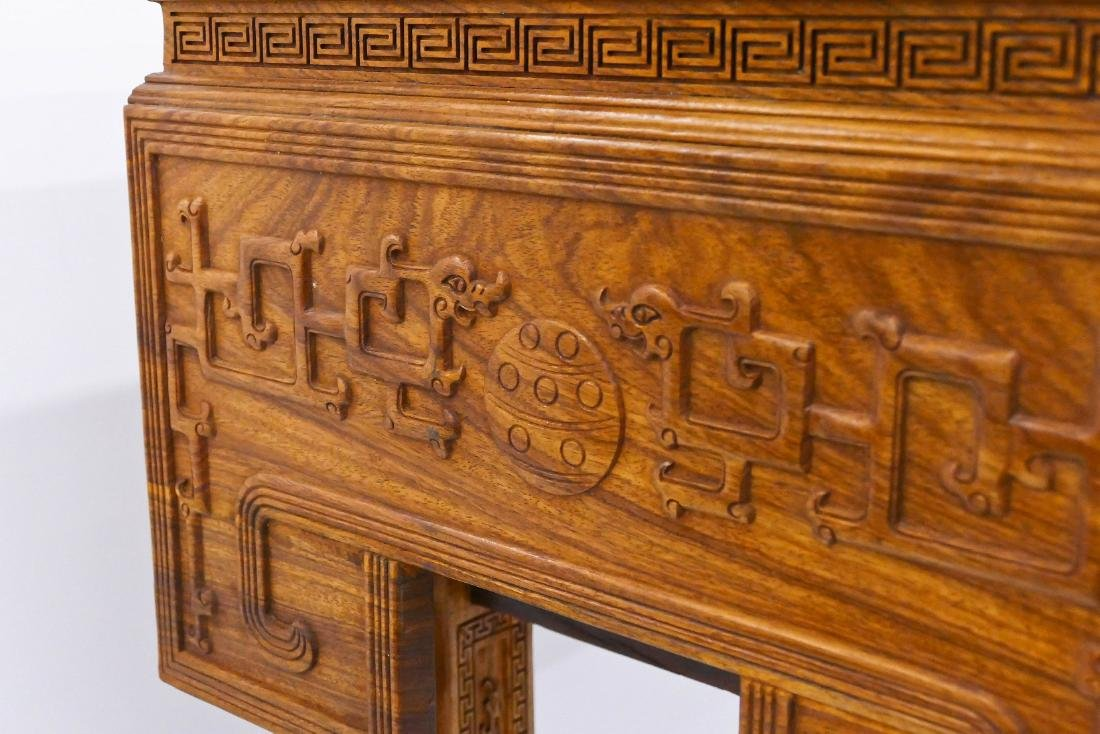 Fine Chinese Huanghuali Rosewood Altar Table - 8