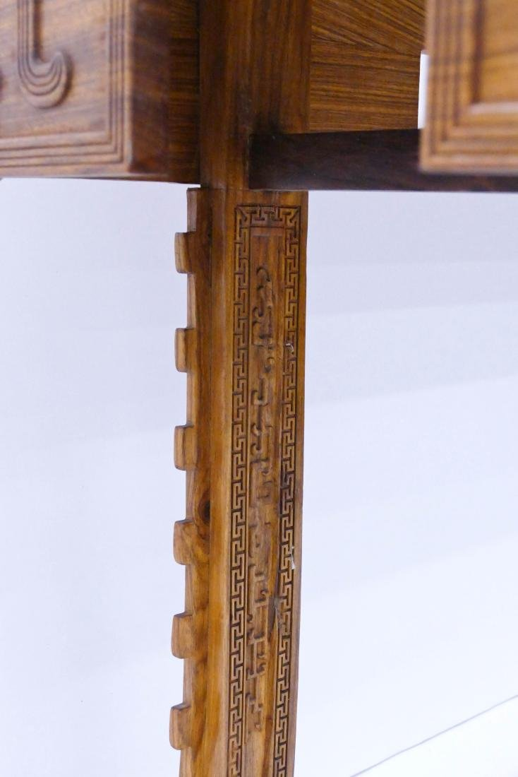 Fine Chinese Huanghuali Rosewood Altar Table - 9