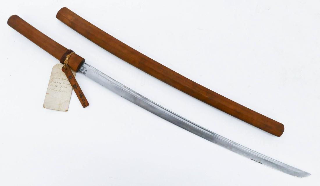 Japanese 16th Century Samurai Sword 35''. An early