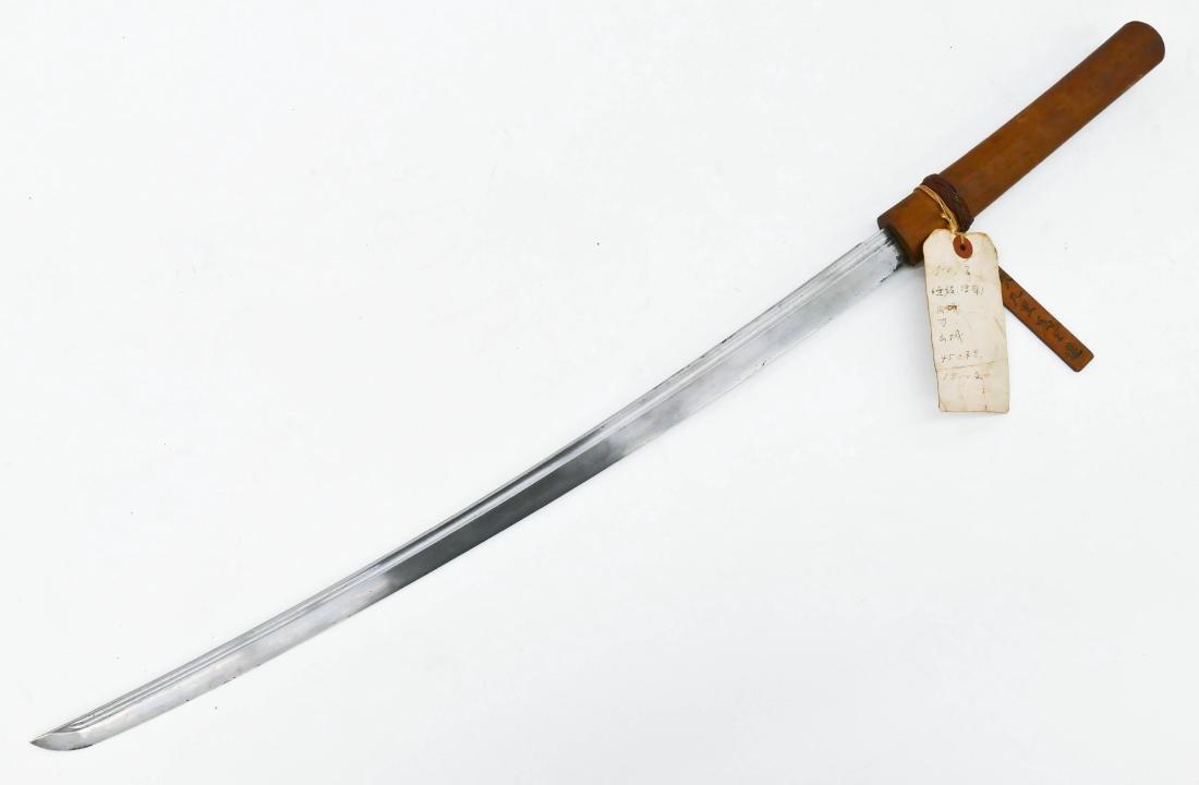 Japanese 16th Century Samurai Sword 35''. An early - 2