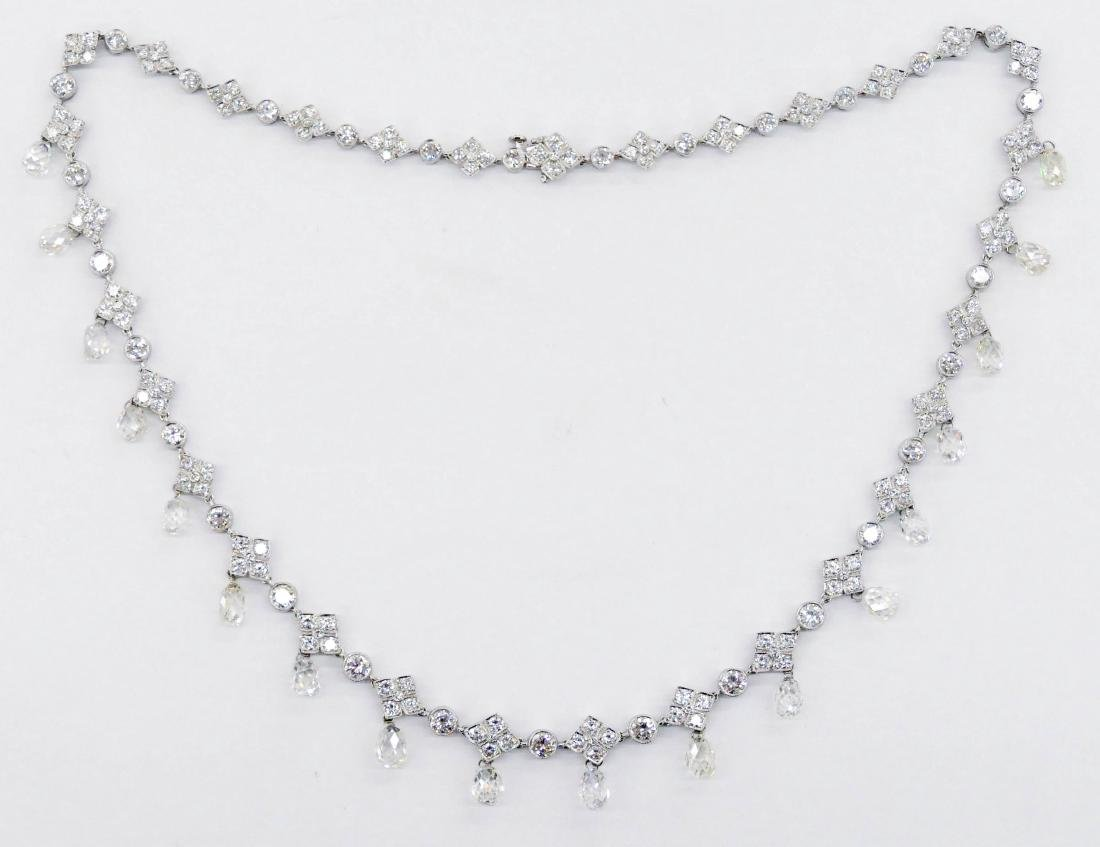 Impressive Patrick Lady's Platinum 31.9ctw Diamond