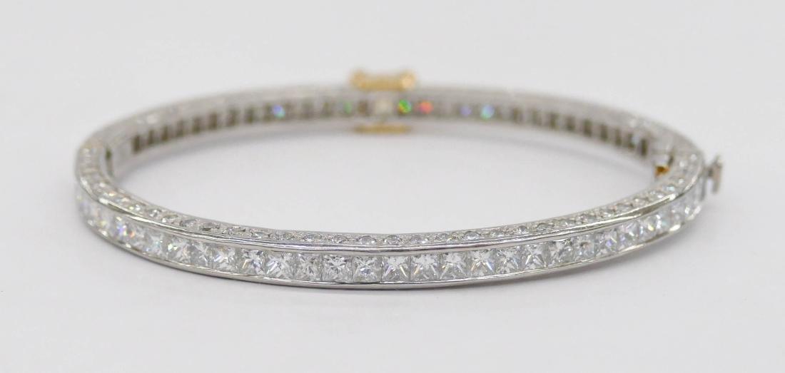 Fine Kwiat Lady's Yellow Diamond Platinum Bracelet - 3