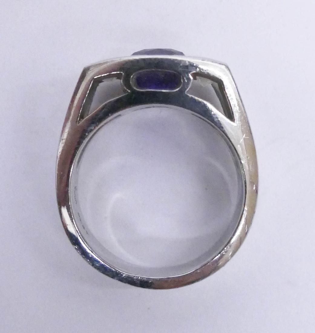 Turgeon Raine 3.2ct Natural Purple Sapphire & Diamond - 3