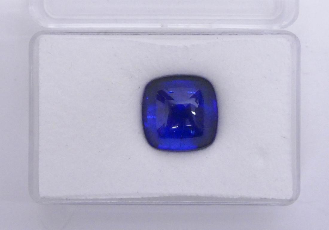 21.6ct Tanzanite Zoisite Cabochon Gemstone. Stone is
