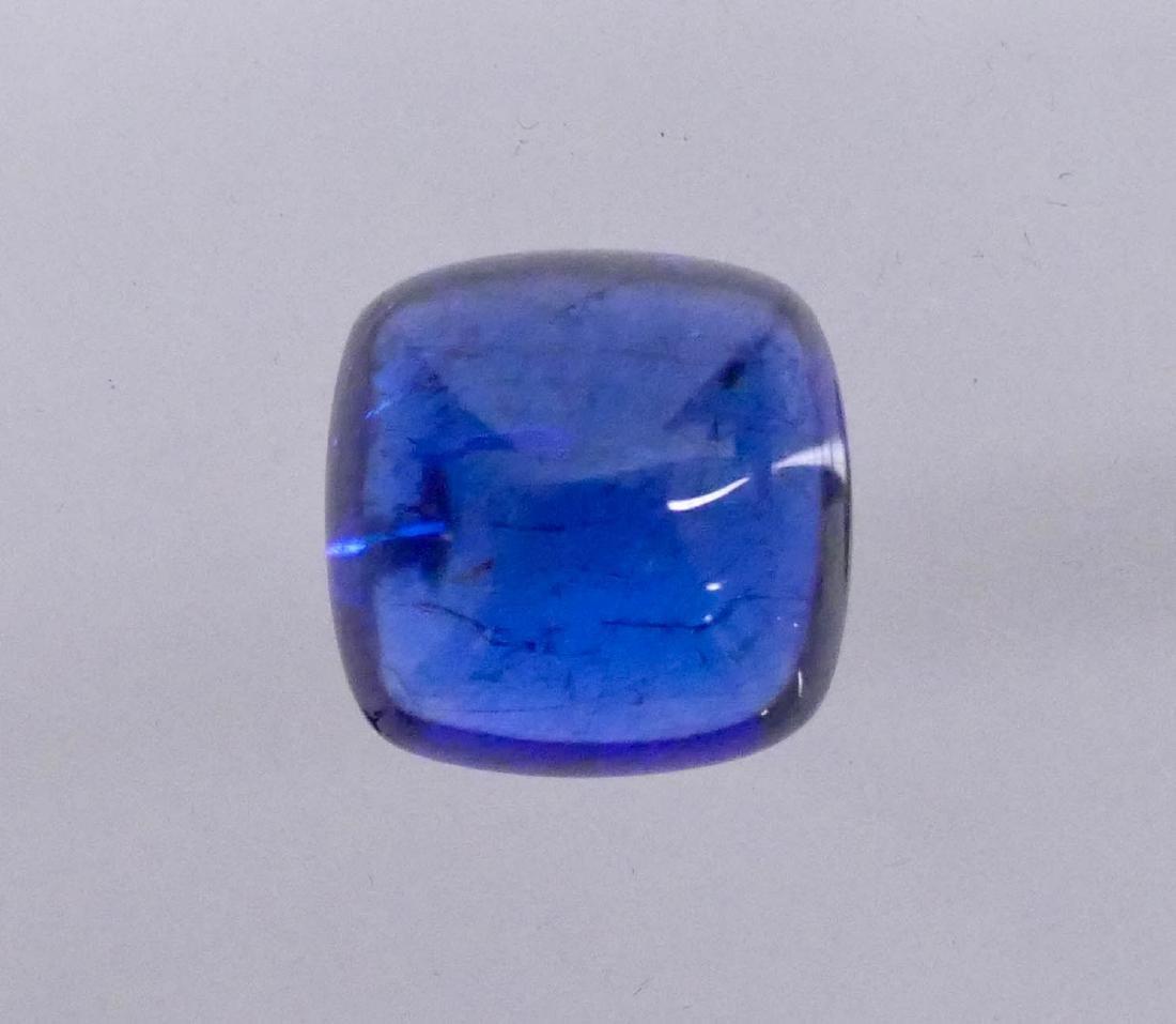 21.6ct Tanzanite Zoisite Cabochon Gemstone. Stone is - 3