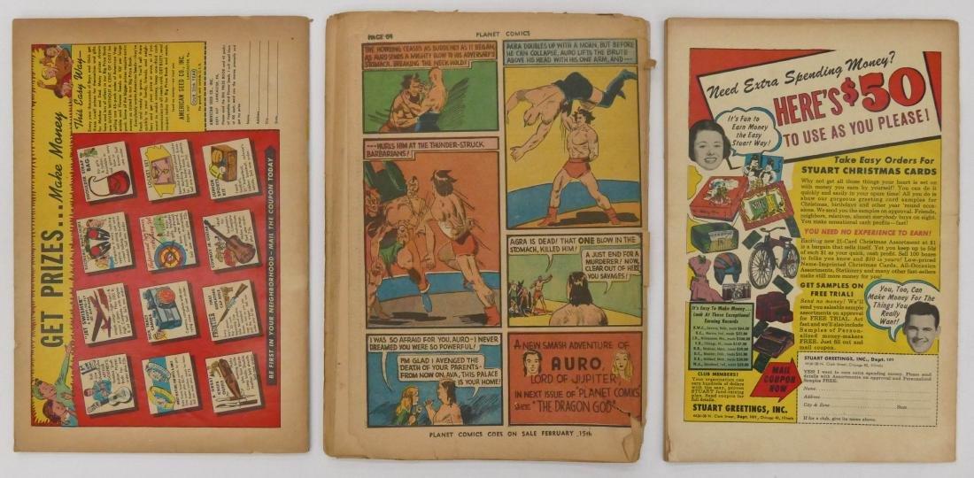 3pc Science Fiction Golden Age Comic Books. Includes - 3
