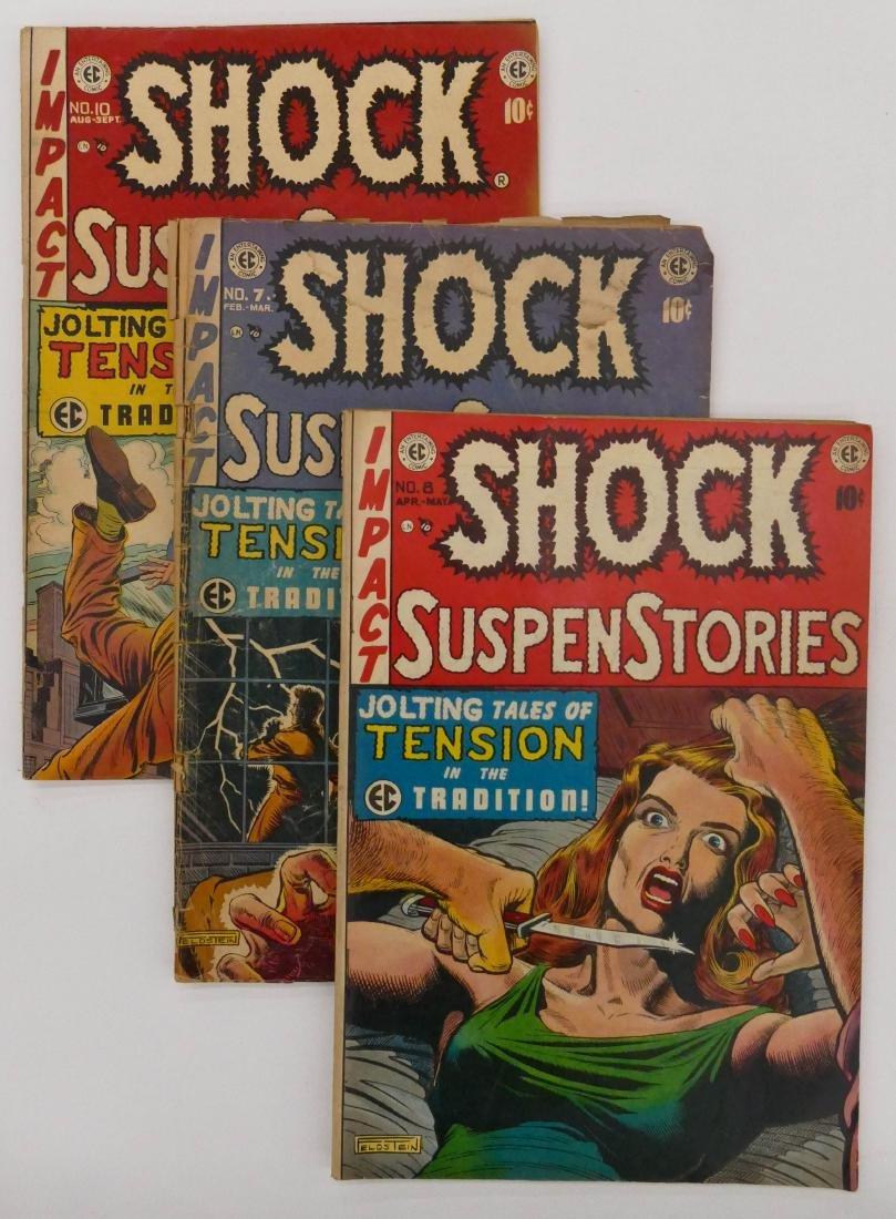 11pc Shock SuspenStories Golden Age Comic Books.