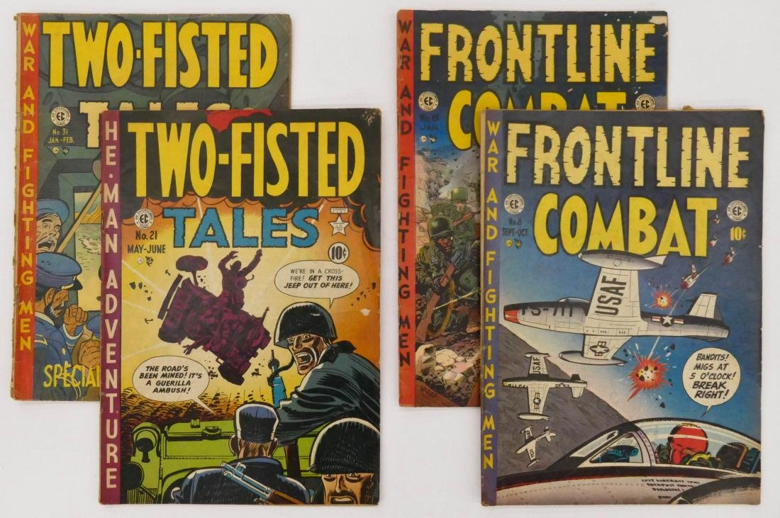 14pc Two-Fisted Tales & Frontline Combat Golden Age
