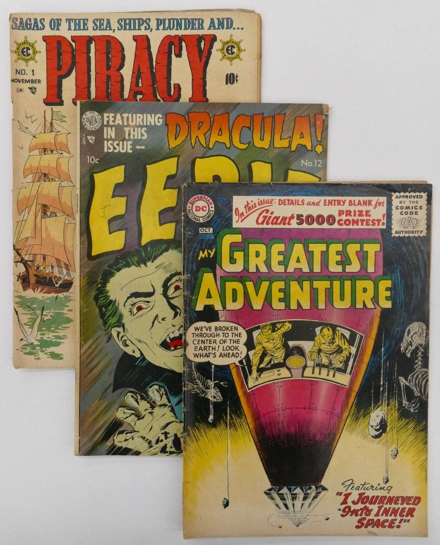 11pc Various Golden Age Comic Books. Includes My