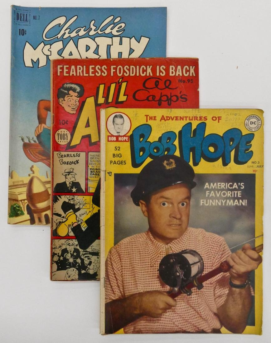 10pc Character Golden Age Comic Books. Includes Charlie
